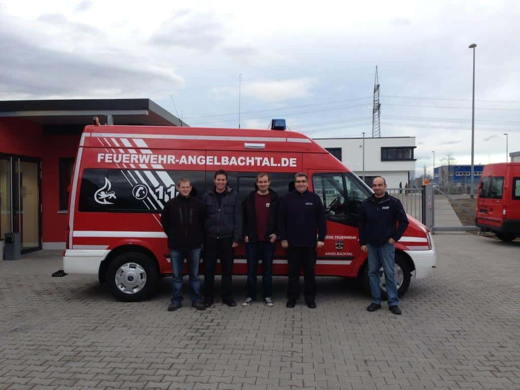 Abholung des MTF in Forchheim